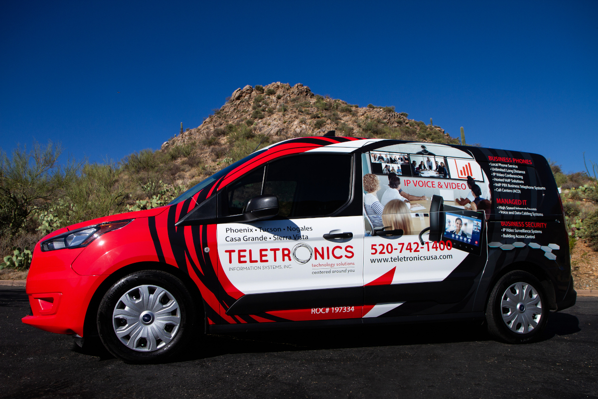Side View of the Teletronics Truck